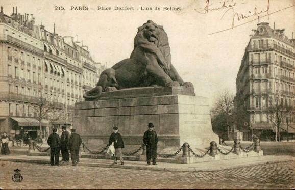 lion-belfort-place-denfert